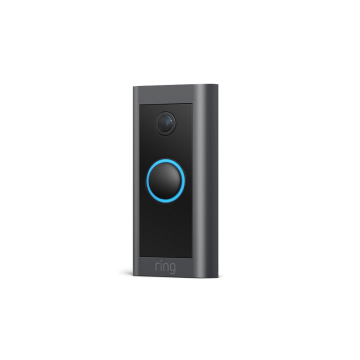 Ring Video Doorbell Wired, Black
