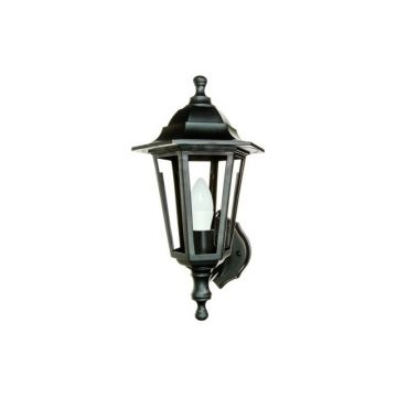 Timeguard LED Carriage Lantern, 4W, Black