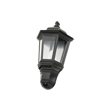 Timeguard LED Half Carriage Lantern, 4W, Black