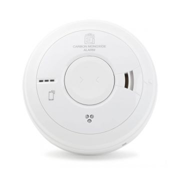 Aico Ei3018 Carbon Monoxide (CO) Alarm, Wired with 10-Year Battery Back-up
