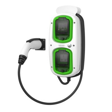 Rolec EVMM0020 Wallpod EV MultiMode Charger, 32A, 5m J1772 Lead
