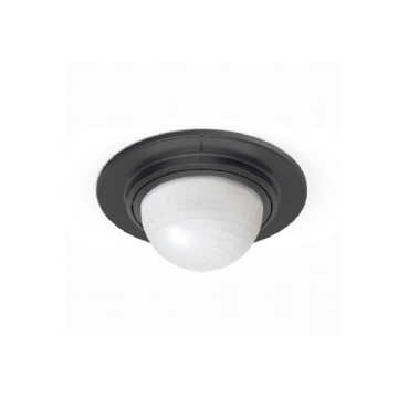 Steinel IS 360-1 Duo InfraRed Ceiling Sensor, Black