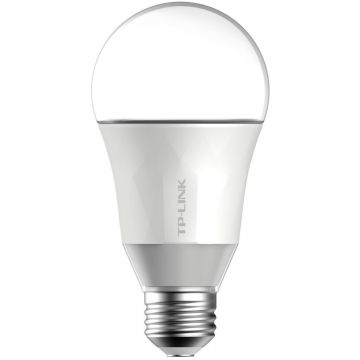 TP-Link LB100 LED Smart Wi-Fi GLS Bulb, Dimmable, 7W, E27, Warm White