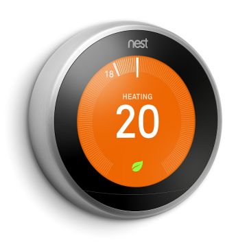SPECIAL OFFER - Google Nest® White Learning Thermostat & Nest Protect Battery Smoke and CO Alarm