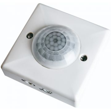 Timeguard 360° Surface Mount, Ceiling PIR Presence Detector, 1500W, White