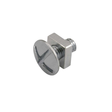 Unicrimp Roofing Bolt, Zinc Plated, M6 x 12mm, Pack of 100