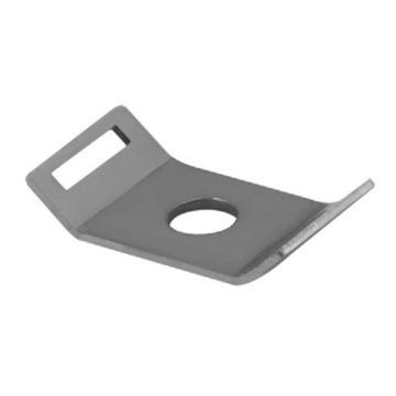 Unicrimp Cable Tie Mount, M4, Stainless Steel