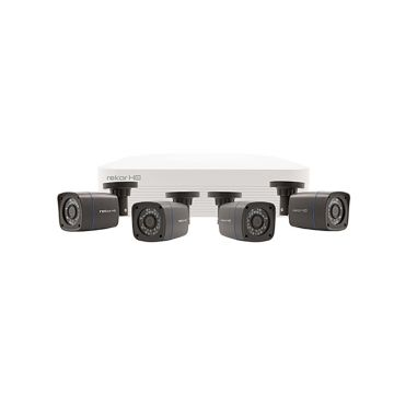 ESP Rekor HD 4 Channel HD CCTV System (Grey Cameras)