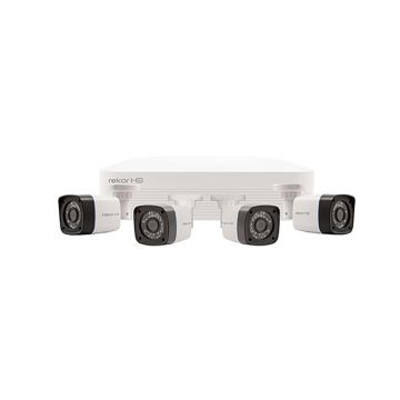 ESP Rekor HD 4 Channel HD CCTV System (White Cameras)