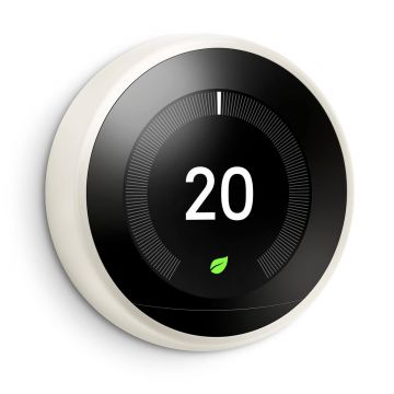Google Nest T3030EX Learning Thermostat - 3rd Generation, White