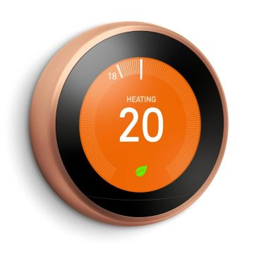 Google Nest T3031EX Learning Thermostat - 3rd Generation, Copper