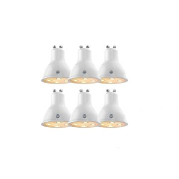 Hive Active LED Smart GU10 Spotlight, Dimmable, 4.8W, Warm White, PACK OF 6