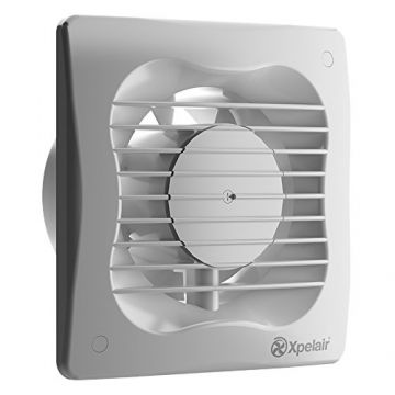 Xpelair 4 Inch Square Extractor Fan With Timer