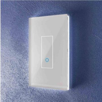 Iotty Single (1 Gang) Smart Light Switch, White