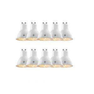 Hive Active LED Smart GU10 Spotlight, Dimmable, 4.8W, Warm White, PACK OF 10